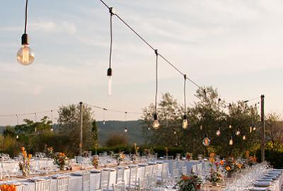 Illuminazione per matrimoni wedding music and ligths propone un