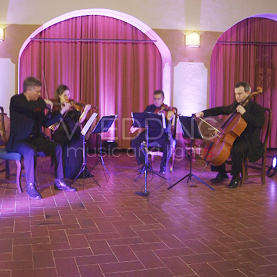 Quartetto d archi per cerimonia - Wedding Music and Lights