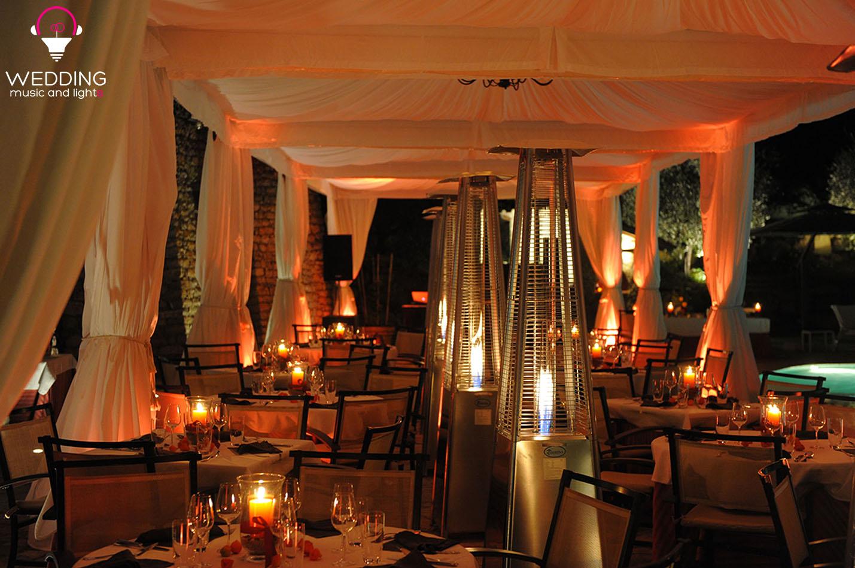Illuminazione gazebo matrimonio wedding tent lighting wedding
