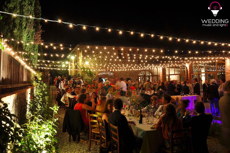 Luminarie Gargonza Wedding Music And Lights